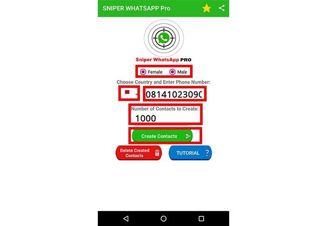 Mendapat Ribuan Kontak WhatsApp