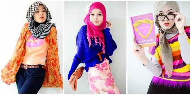 hijab warna warni