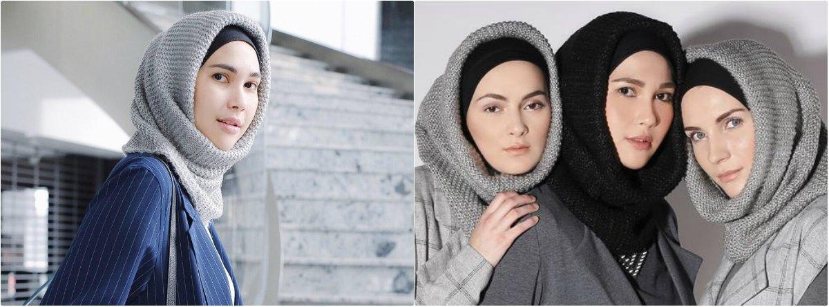 jilbab rajut